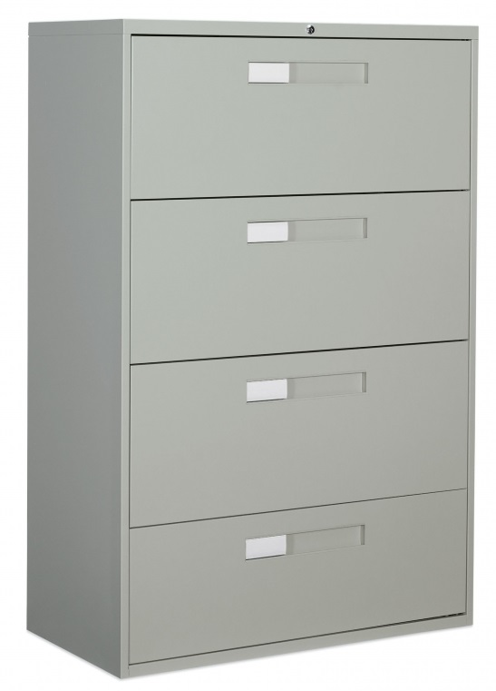 Global 4 Drawer Lateral Filing Cabinet, Global 4 Drawer Lateral File Cabinet