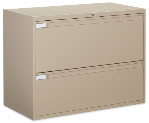 Global 2 Drawer Lateral Filing Cabinet, 2 Drawer Lateral File Cabinet